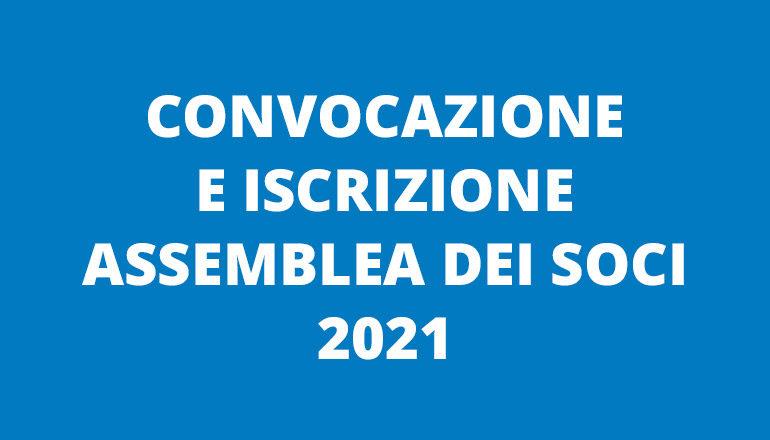 convocazione assemblea 2021